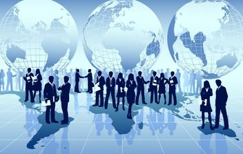 Global Business Around the World - Free vector #173983
