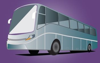 High Way Bus - vector #174073 gratis