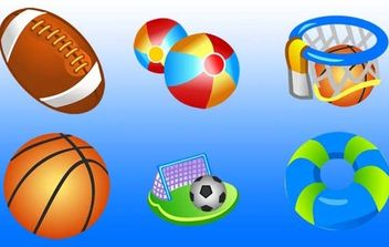 Free Vector Sport Icons - Free vector #174933