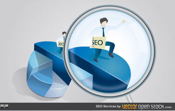 SEO Services - Free vector #175033