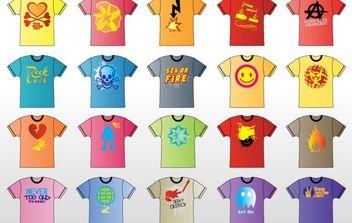T-Shirt Vector - Kostenloses vector #175263