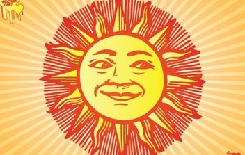Sun - бесплатный vector #175313