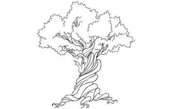 FREE VECTOR TREE EARTH WEEK - Kostenloses vector #175713