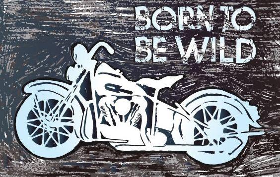 Motorcycle Vector Illustration - Free vector #175853