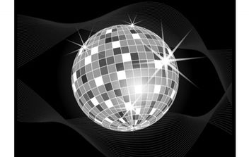 Disco Ball Vector - Free vector #176023