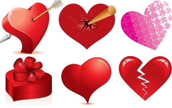 Heart vector kalp vektorleri