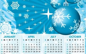 2011 Calendars - бесплатный vector #176563
