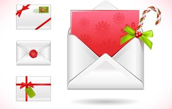 CHRISTMAS MESSAGE VECTOR - vector #176603 gratis