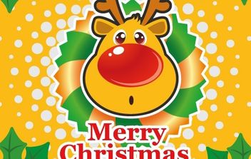 Christmas Vector Illustration 2 - vector gratuit #176703