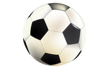 Soccer ball - Kostenloses vector #177003