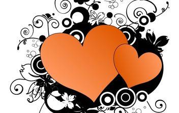 Heart Vectors - Kostenloses vector #177023