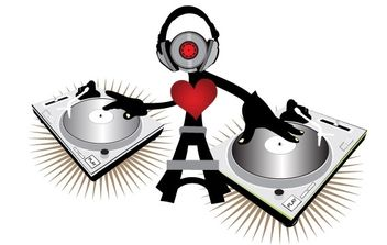 Disc Jockey 4 - vector gratuit #177243