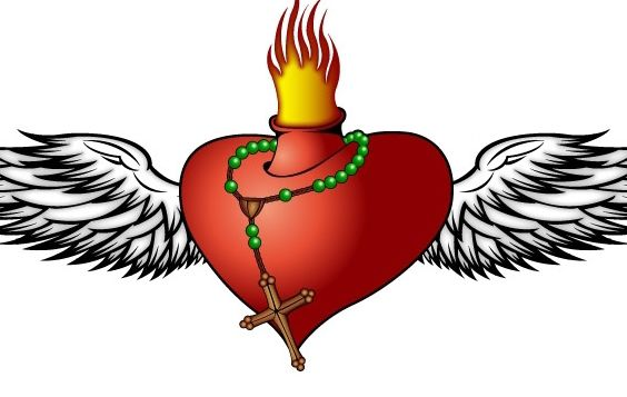 Burning Heart - vector gratuit(e) #177553