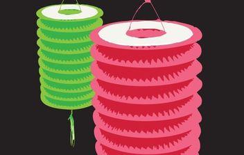 Paper Lantern - Kostenloses vector #177653