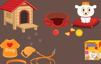 Dog Care Vector - vector #177763 gratis