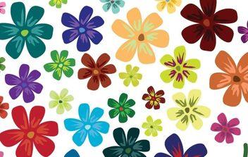 Vector Flowers - Free vector #177783