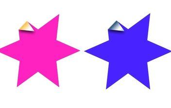 Star Sticker - Free vector #178003