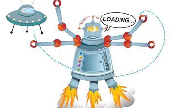 Robot - Free vector #178053