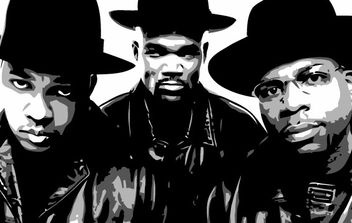 RUN DMC - vector gratuit #178203