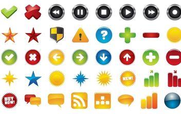 icons - Kostenloses vector #178213