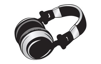 Headphone - Free vector #178283