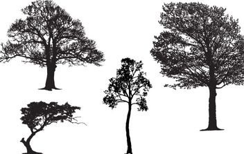 Tree Master Pack - vector #178313 gratis