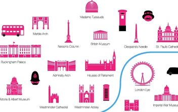 London - vector gratuit #178323
