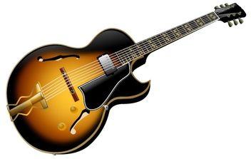 Guitar - Free vector #178373