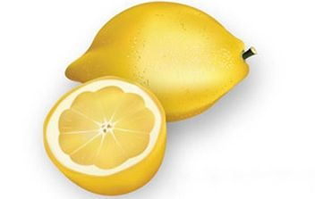 Realistic chopped lemons - vector gratuit #178533