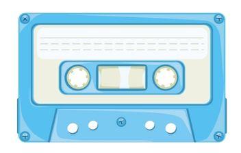 Cassette - Free vector #178873