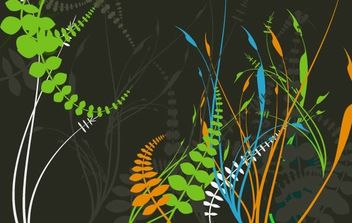 Free Foliage Vectors - vector #179323 gratis