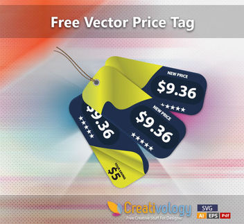 3 Creative Price Tags - vector gratuit #180273