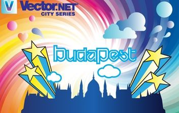 Budapest City Vector - Free vector #181233