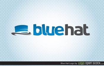 Blue Hat Logo - vector #181493 gratis