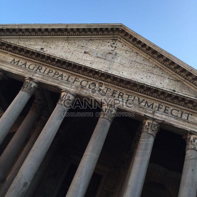 Panthéon de rome - image gratuit #183073