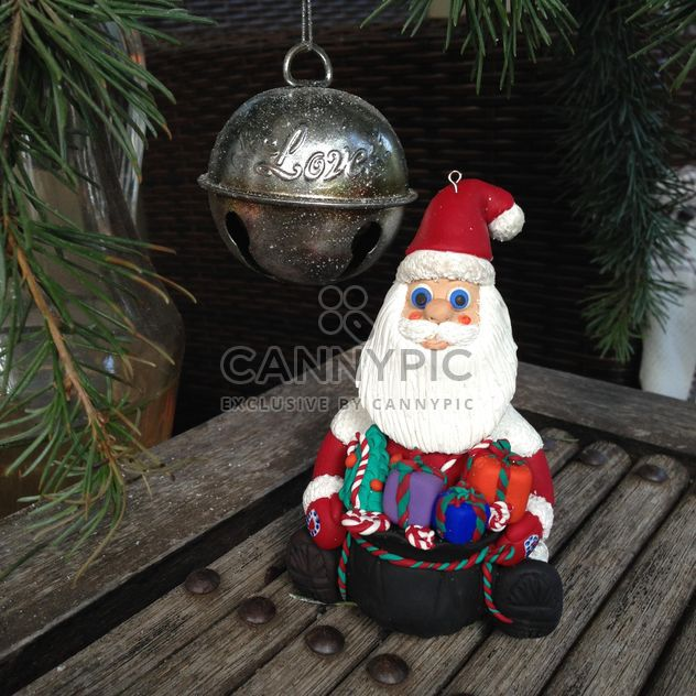 Santa Claus and cristmas decoration - Free image #183813