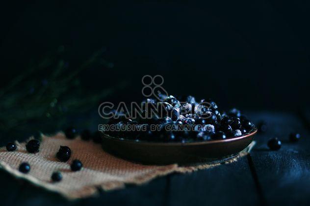 Fresh ripe blackberries in plate - Free image #183823