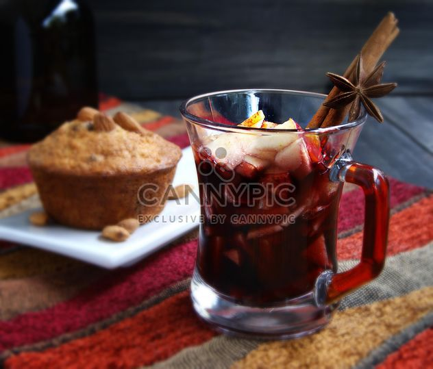 hot cup of red wine - Free image #183923