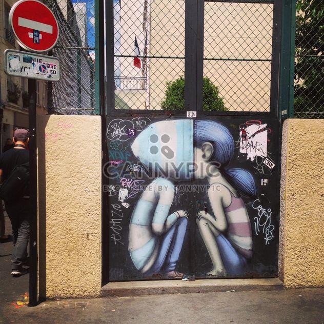 Streetart in Paris - Free image #184003