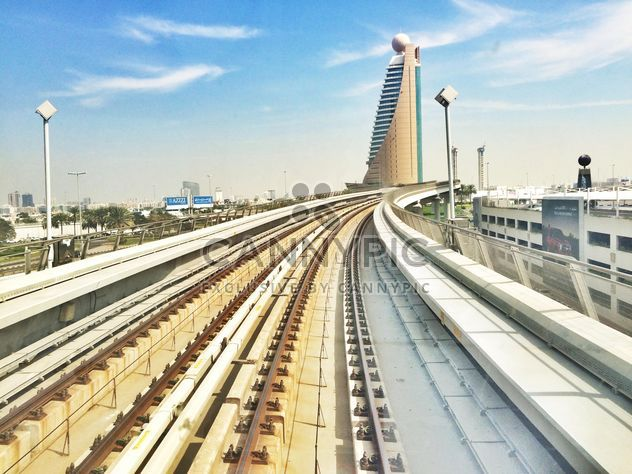 Subway line in Dubai - Free image #184053