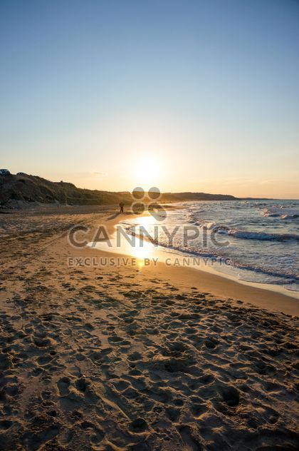 Sunset at the sea - Free image #185713