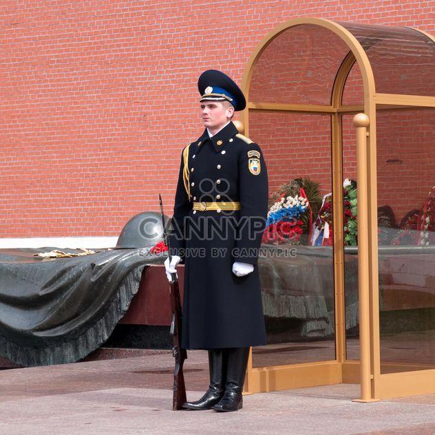 Охранник в Александровском саду - бесплатный image #186213