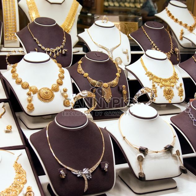 Showcase of jewelry store - Free image #186623