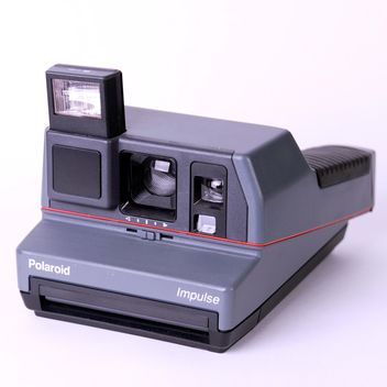 Old Polaroid camera - image gratuit(e) #186733