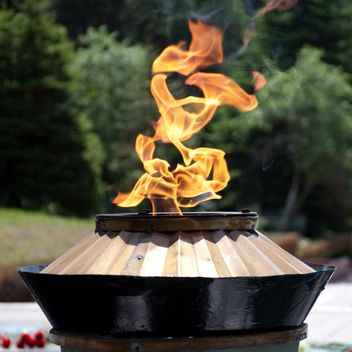 Burning eternal flame - image #186743 gratis