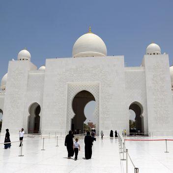 Sheikh Zayed Mosque, Abu Dhabi - Free image #186783