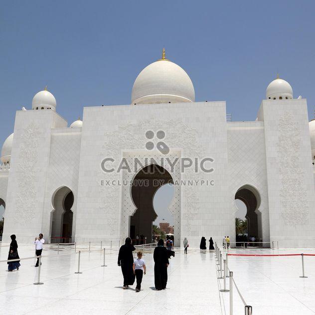 Mosquée Sheikh Zayed, Abou Dabi - image gratuit #186783