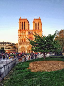 Notre Dame cathedral in Paris - Kostenloses image #186853