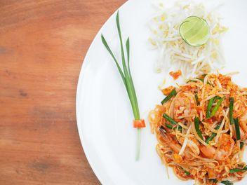 Thai noodles - Free image #187043