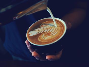 Coffee latte art - image #187083 gratis